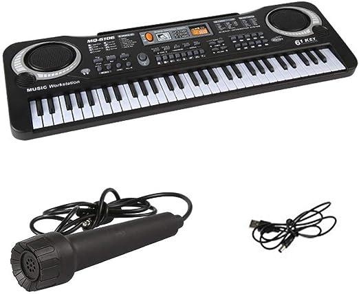 Llave Teclado Piano Portátil Digital Electrónico Piano Con ...