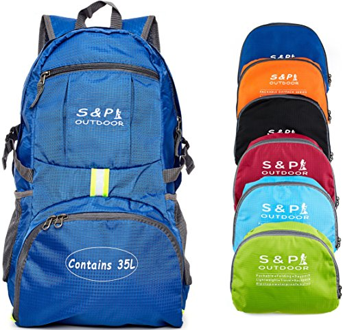 eb73ab1fe9ac S   P Outdoor 35L Sport waterproof Lightweight Packable Durable folding  International Travel Hiking Trekking Camping