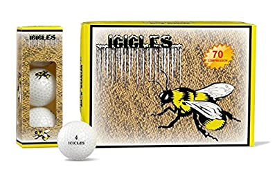 Vgolf Bumble Bee Logo Crystal Ball (Pack of 12)
