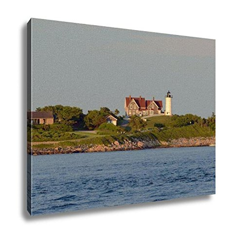 Nobska Lighthouse - Ashley Canvas, Nobska Lighthouse Is Located On The Southwestern Tip Of Cape Cod Massachusetts, Home Decoration Office, Ready to Hang, 20x25, AG6094723