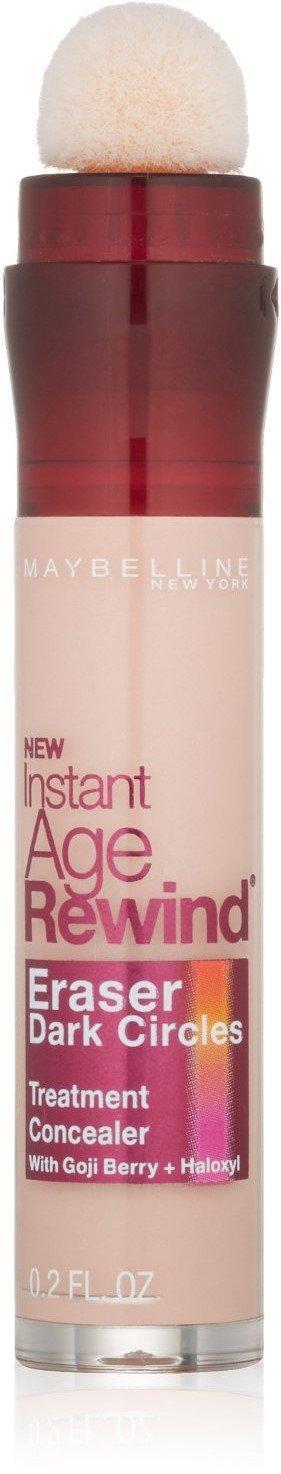 (Pack of 2) Maybelline Instant Age Rewind Eraser Dark Circles Treatment Concealer, [160] Brightener Maybelline New York