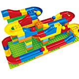 Image of Kengadget Crazy Ball Marble Run Set - 73 Pieces, 4 Marbles