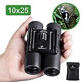 Best Concert Binoculars - HUTACT Binoculars Compact, 10x25 Small and Lightweight, Review