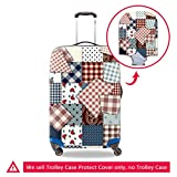 CreativeBags DustProof Luggage Protective Covers Fits 18-30 Inch Travel Trip Suitcase