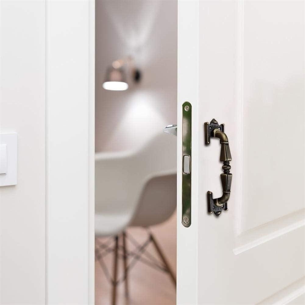 S//L Green Bronze Door Handle Vintage Wardrobe Cabinet Drawer Knobs Pull Handles Furniture Hardware Drawer Pulls Color : 120mm