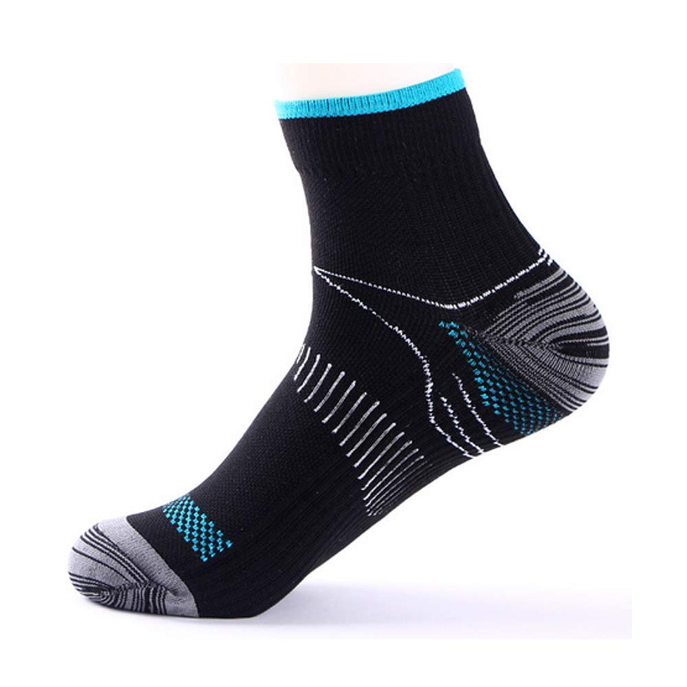 Plantar Fasciitis Running Ankle Athletic Sport Compression Socks (3/7 Pairs)