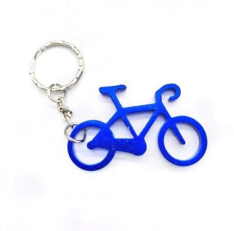 DZQCLB Hebilla de Bicicleta Llavero abridor de Acero Inoxidable ...