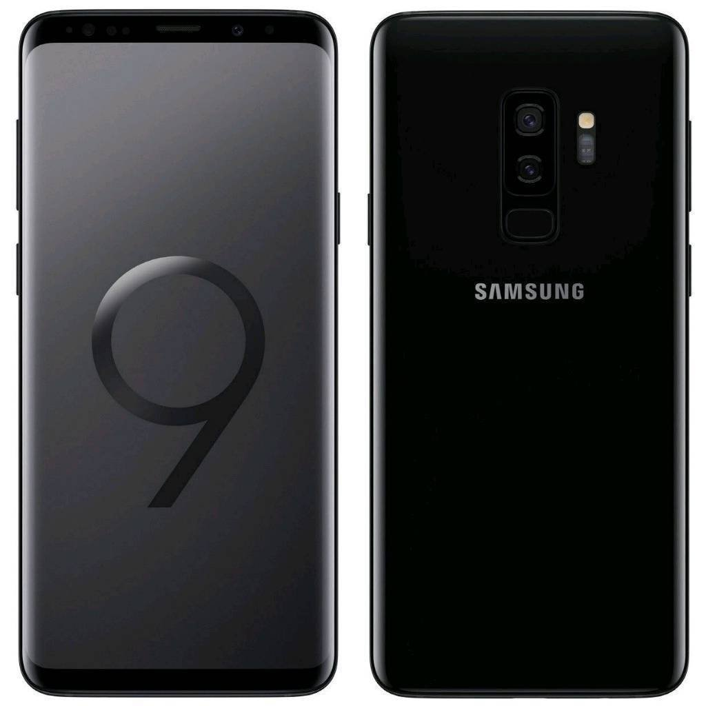 Samsung Galaxy S9 Plus (Midnight Black, 256 GB) (6 GB RAM): Amazon.in:  Electronics