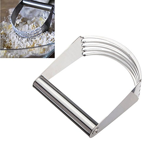 Kitchen Craft Stainless Steel Hand Held Pastry Blender Maker Dough Cutter Mixer