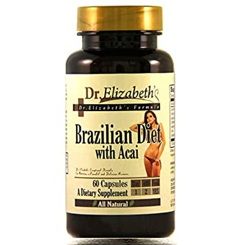 Amazon.com: Dr. Elizabeth De La Dieta brasileño con Acai ...