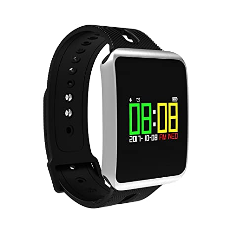 NICERIO IP68 impermeable Bluetooth 4,0 Smart Watch Pulsómetro Tensiómetro de sangre saturación de oxígeno