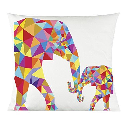 Colorful Geo Elephant 14