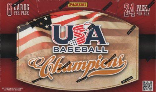 MLB 2013 Panini USA Champions Baseball Trading Cards Bats Baseball Hobby Box