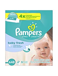 Pampers Baby Wipes Baby Fresh 9X Refill, 648 Diaper Wipes BOBEBE Online Baby Store From New York to Miami and Los Angeles