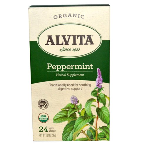 Alvita Tea Organic Herbal Peppermint -
