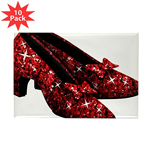 CafePress - Ruby-Slippers Magnets - Rectangle Magnet, 2