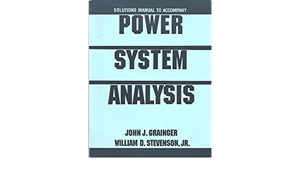 Power System Analysis Text Book Pdf