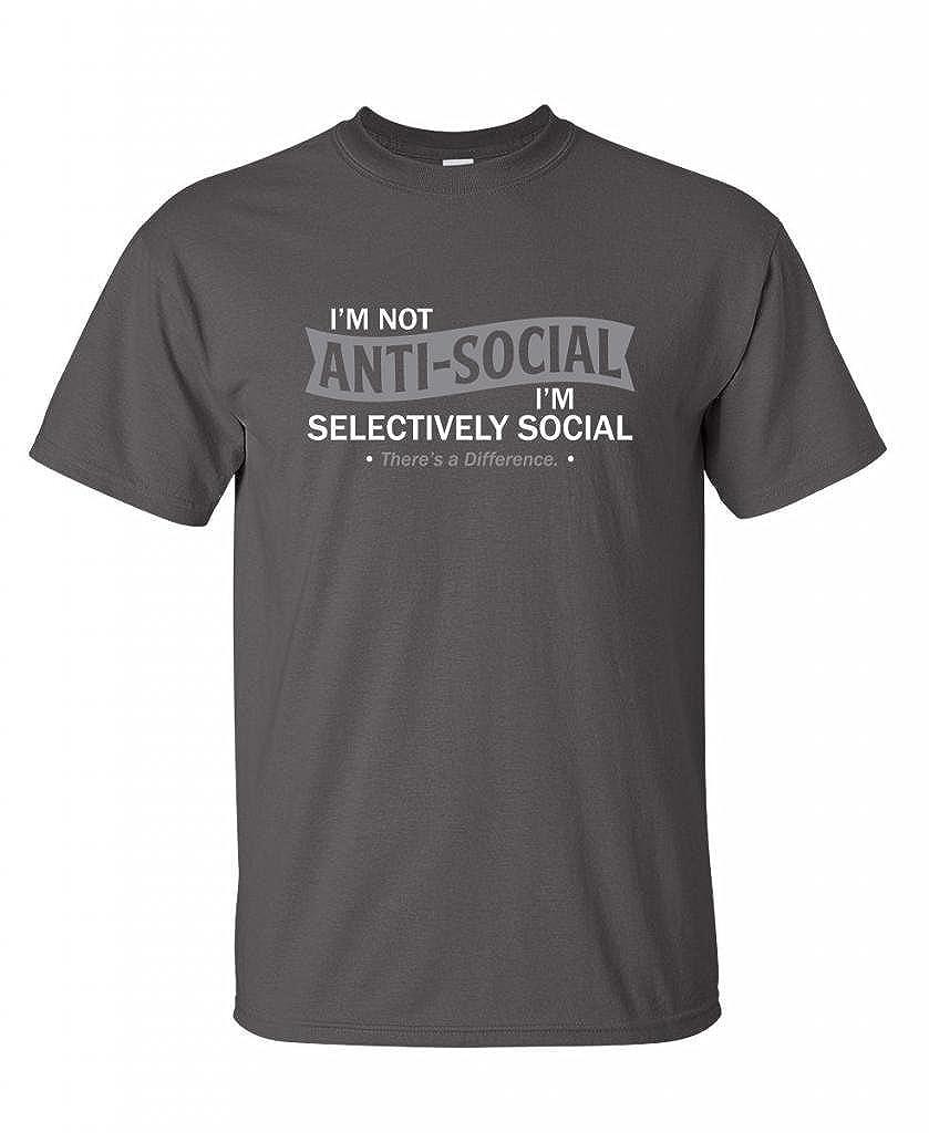Amazon I m Not Anti Social I m Selectively Cool Sarcastic