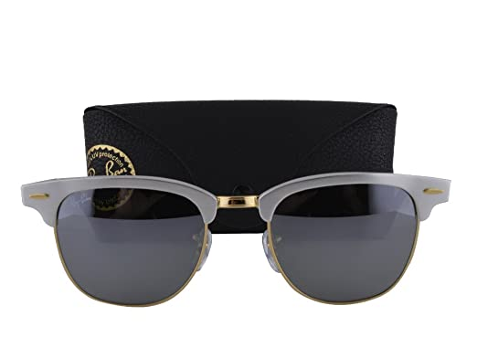 82fd1747f3c89 Image Unavailable. Image not available for. Color  Ray Ban RB3507 Brushed  Silver Arista w Gray Mirror Lens 137 40
