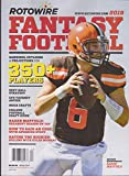 Best Fantasy Football Magazines - Rotowire Fantasy Football Magazine 2019 Review