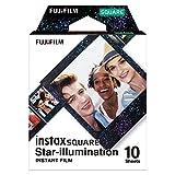 Fujifilm Instax Square Film, Star Illumination (10 Exposures)