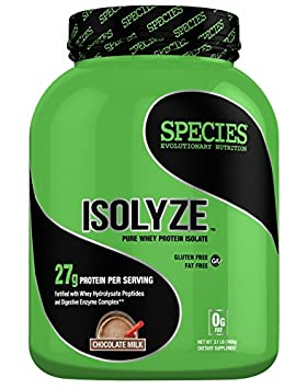 Species Nutrition Isolyze Chocolate Milk Supplement, 3.1 Pound
