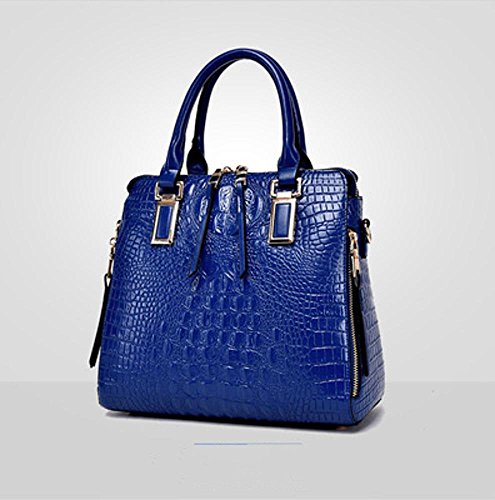 Women Single Woman Pattern D Purse Shoulder Aoligei Trend Fashion Crocodile Bag 71qUFAnx