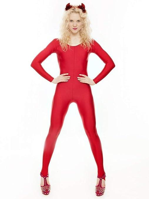 Malla entera en Katz Dancewear KDC012 color rojo, elegante, para ...