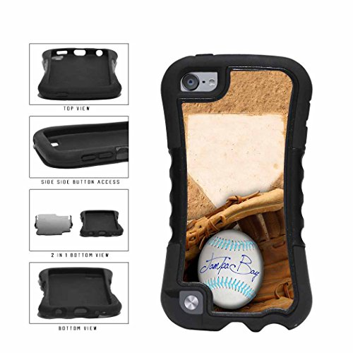 Tampa Bay Glove and Baseball 2-Piece Dual Layer Phone Case Back Cover Apple iPod Touch 5th Generation