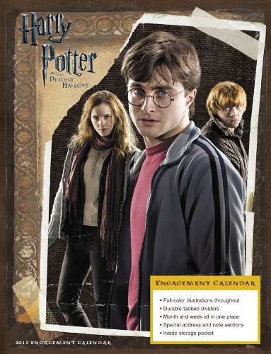 Click for larger image of 2011  Harry Potter and the Deathly Hallows  Engagement Calendar