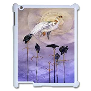 Cute swan & ballet dance Pattern Hard Shell Cell Phone Case for For iPad 2,3,4 Case color20