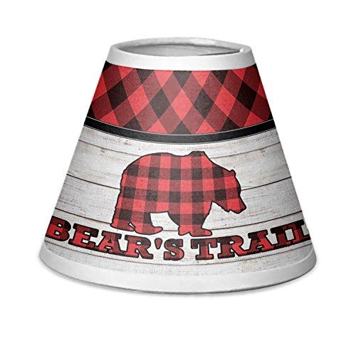 Lumberjack Plaid Chandelier Lamp Shade (Personalized)