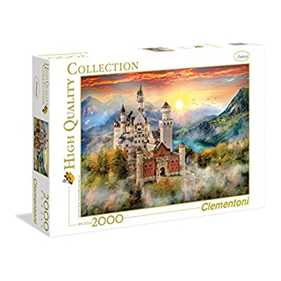 Clementoni 32559 High Quality Collection Puzzle Neuschwanstein 2000 Pezzi