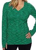 Kirkland Signature Ladies Green Pullover Hoodie Medium