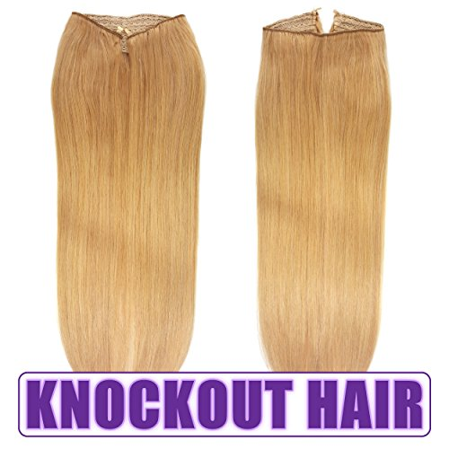 "Fits like a Halo Hair Extensions 20""-22"" (#20) - No Clips..."