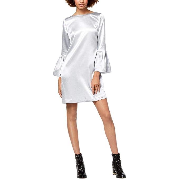 Amazon.com: Vestido de manga larga para mujer, diseño ...