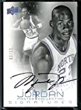 Michael Jordan Master Collection Upper Deck SIGNATURES Auto Autograph UNC University of North Carolina #3/23