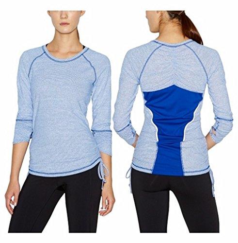 Lucy Women's Dashing Stripes Long Sleeve Shirt