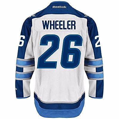 Blake Wheeler Winnipeg Jets NHL Reebok Men's White 2016-17 Premier Jersey