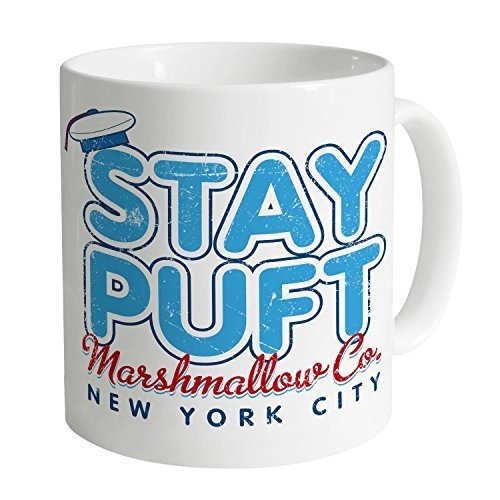 Inspired By Ghostbusters - Stay Puft Mug