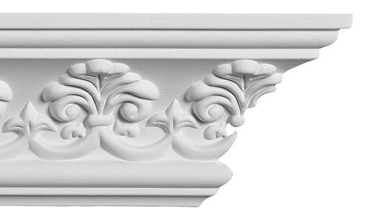 Amazon.com: Crown Molding – Corona de plástico moldeado ...