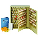 STEELMASTER Dupli-Key Two-Tag Cabinet for 180 Keys, 16.5 x 20.5 x 5 Inches, Sand (201818003)