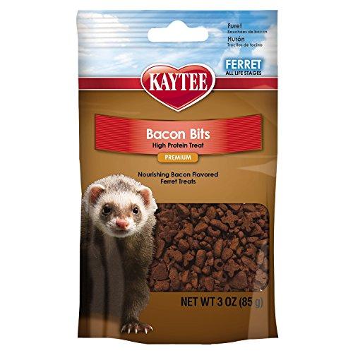 Kaytee Bacon Bits Ferret Treat, 3-oz bag