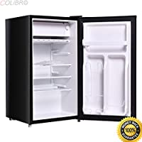COLIBROX--Single Door Refrigerator Small Freezer Cooler Fridge Compact 3.2 cu ft. Unit. mini refrigerator. cheap mini fridge for sale. best portable mini fridge. mini fridge price amazon. mini fridge.