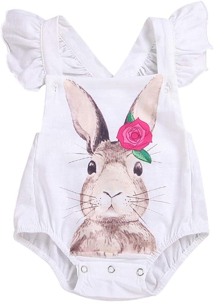 Ropa de bebé Verano versión Coreana del Conejo bebé siamés Ropa para niños