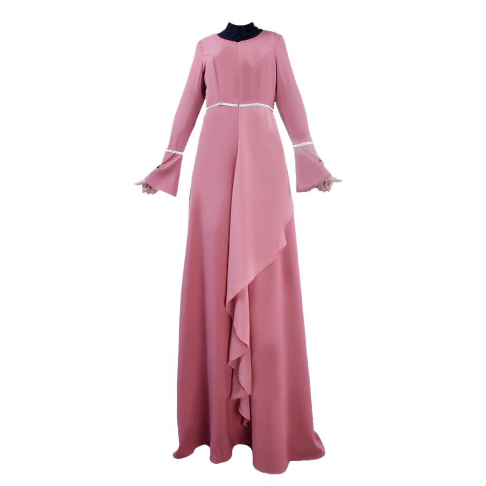 Zhuhaixmy Muslim Women Clothing Kaftan Abaya Islam Malaysia Maxi Dress Arab Robe: Amazon.co.uk: Clothing