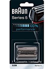 Braun Series 5 52B Foil & Cutter Replacement Head, Compatible with Models 5090/5190cc, 5040/5140s, 5030s, 5147s, 5197cc