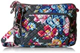 Vera Bradley Iconic RFID Little Hipster, Signature Cotton, pretty Posies