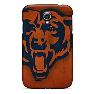 CasePete Galaxy S4 Hybrid Tpu Case Cover Silicon Bumper Chicago Bears