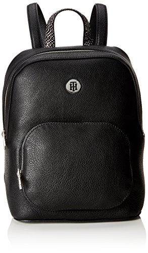 Tommy Core Mujer Mochilas Backpack Black Hilfiger Th Negro TwTq18AS